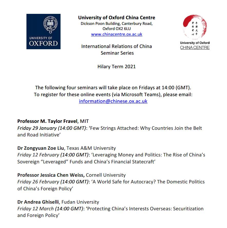 International Relations of China