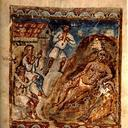 Folio 46r from the Syriac Bible of Paris (Bibliothèque Nationale, MS syr. 341), Job