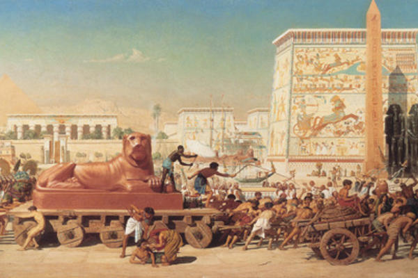1867 Edward Poynter Israel in Egypt