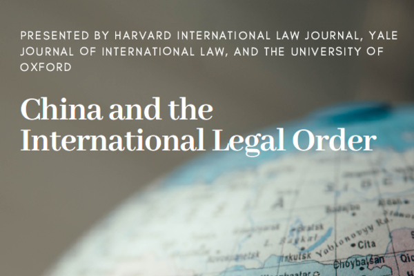 China and the International Legal Order