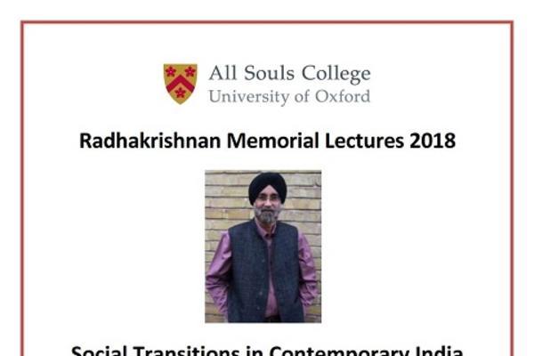 Radhakrishnan Memorial Lectures