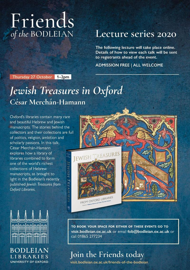 Jewish Treasures in Oxford