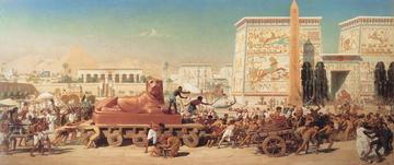 1867 Edward Poynter Israel in Egypt