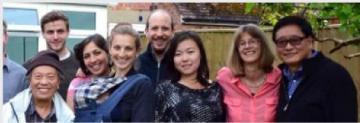 Tsering Gonkatsang with students