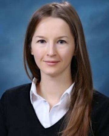 Photograph of Alena Kulinich